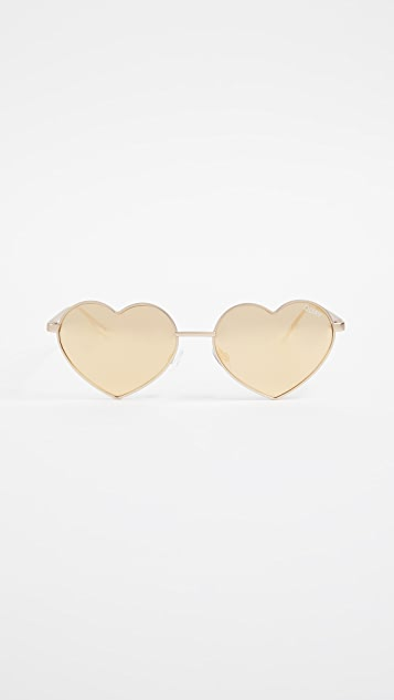 6bad1bdb23838 Quay Heart Breaker Sunglasses