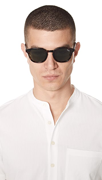 Quay Walk On Sunglasses