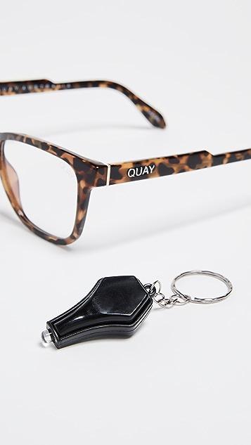 Quay Hardwire Blue Light Blocker Glasses