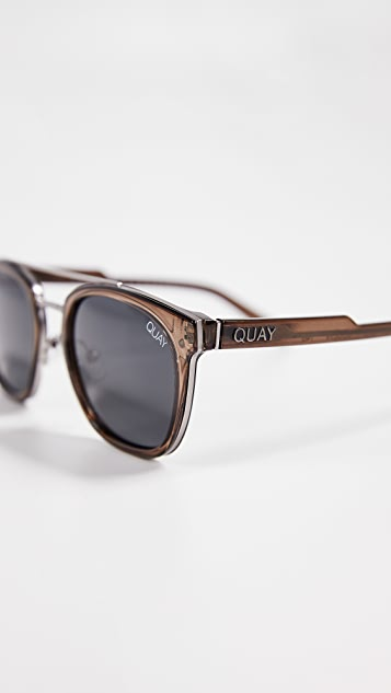 Quay x Barney Cools Coolin Sunglasses