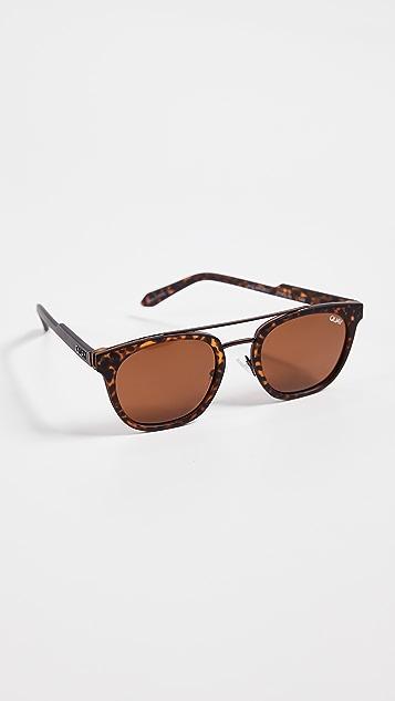 Quay x Barney Cools Coolin Sunglasses