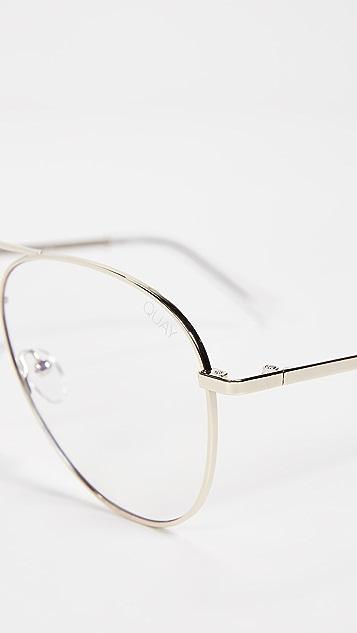 Quay Still Standing Blue Light Blocker Glasses