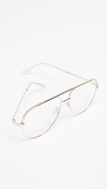 Quay High Key Glasses