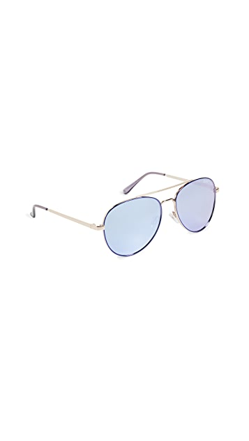 Quay Single Sunglasses