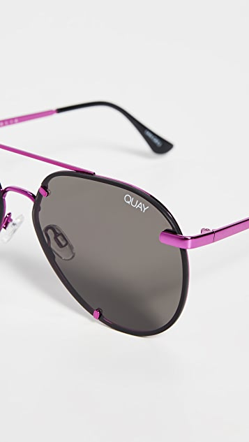 Quay Rebelle Sunglasses