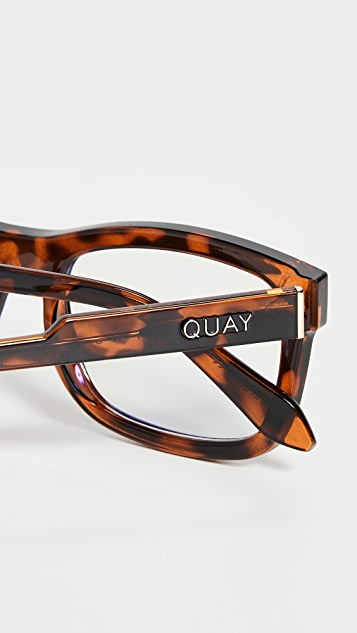 Quay Очки Beatnik Bluelight