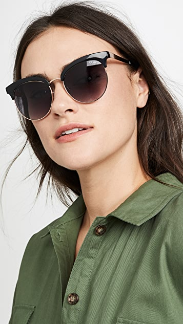 Quay Cherry Sunglasses