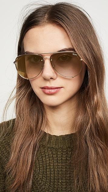 Quay Солнцезащитные очки High Key
