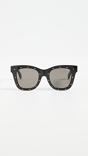 Quay Rhinstone After Hours Sunglasses