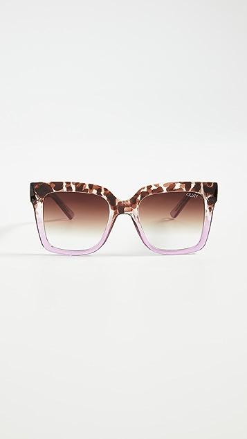 Quay Солнцезащитные очки Icy