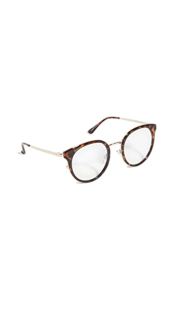 Quay Cryptic Blue Light Glasses