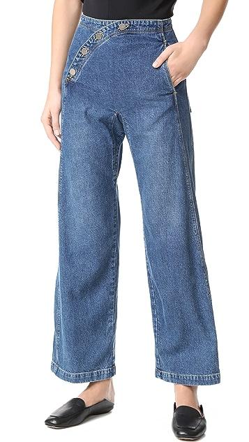 Rachel Comey Sailor Bishop Jeans