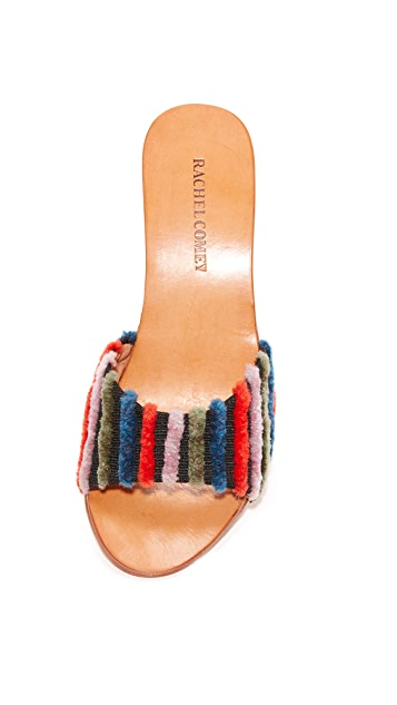 Rachel Comey Wit Embroidered Mules