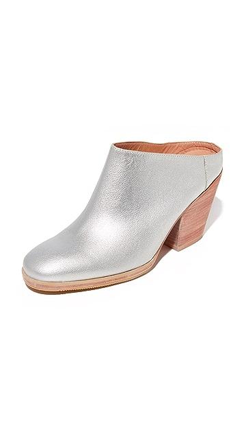 Rachel Comey Mars Mules - Silver