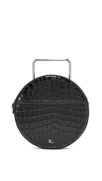 Rachel Comey Croc Embossed Rider Bag