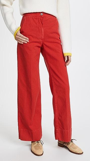 Rachel Comey Clean Bishop Pants - Coral