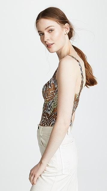 Rachel Comey Cleft Top