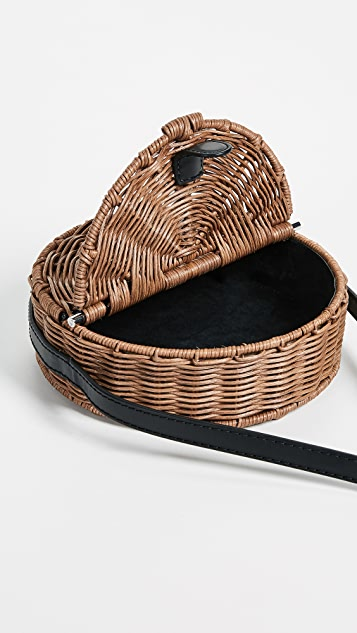 Rachel Comey All Wicker Baan Cross Body Bag