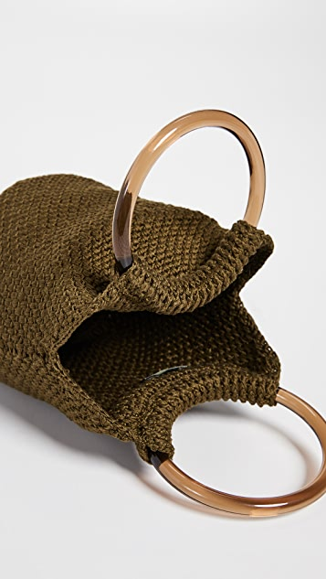Rachel Comey Praia Knit Bucket Bag