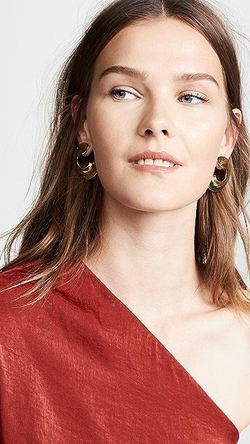 Rachel Comey Серьги-кольца Rail