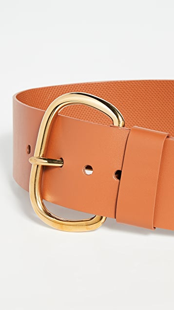 Rachel Comey Wide Estate Leather Belt