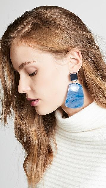Rachel Comey Furrow Earrings