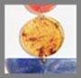 橙色大理石纹