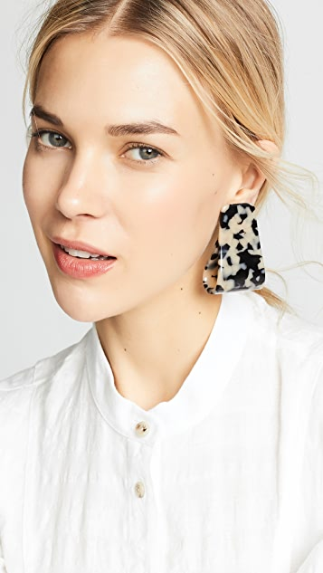 Rachel Comey Slalom Earrings