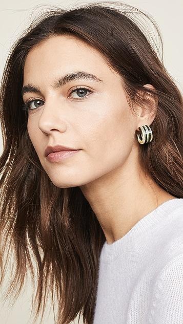Rachel Comey Raven Earrings