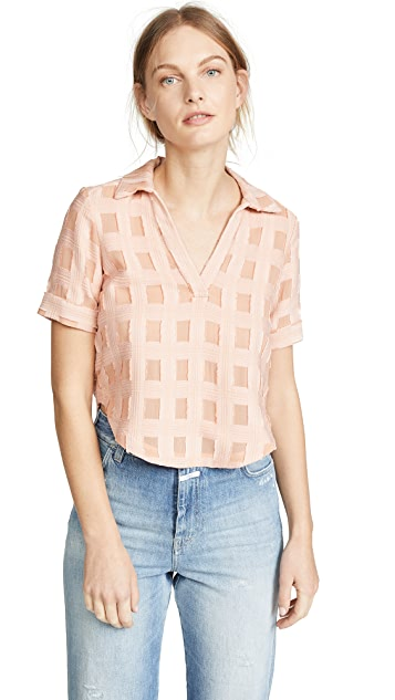 Rachel Comey Swift Polo Top