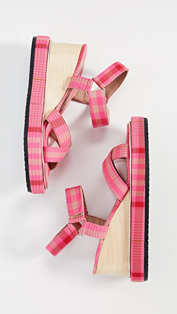 Rachel Comey Seil Wedge Sandals