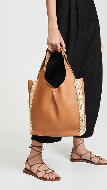 Rachel Comey Объемная сумка с короткими ручками Monte