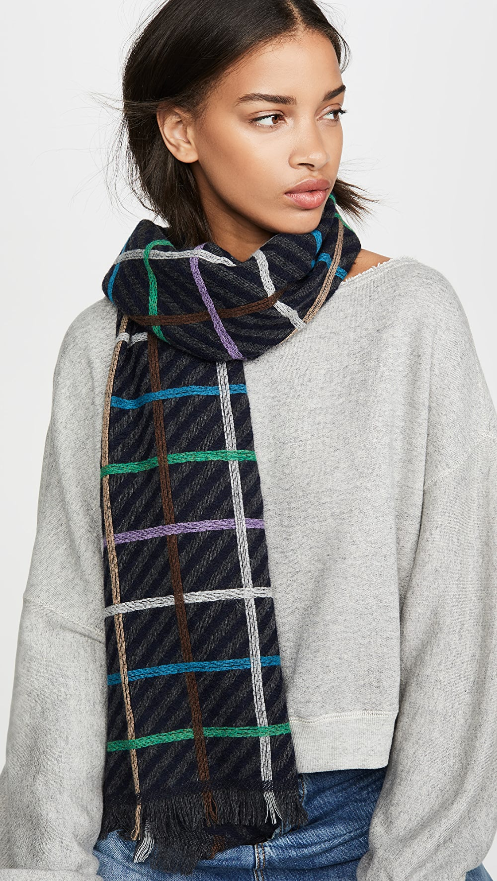Practical Rachel Comey - Aba Scarf Limpid In Sight