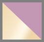 透明紫色多色