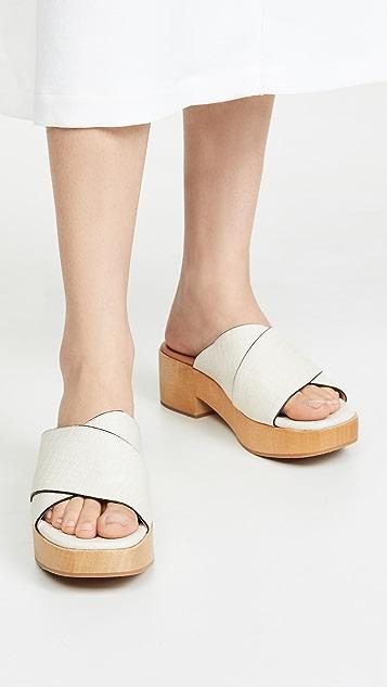 Rachel Comey Serge 木屐式凉鞋