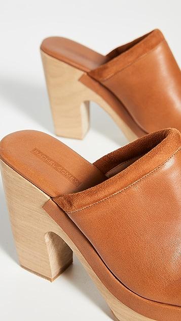 Rachel Comey 豹纹木底鞋