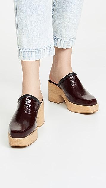 Rachel Comey Salta 木底鞋