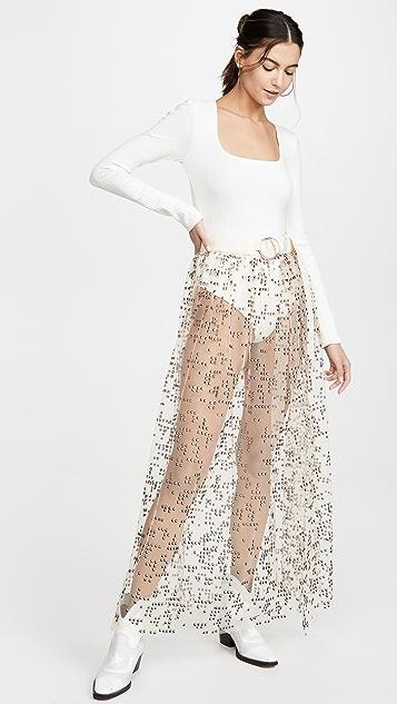Rachel Comey Tiers Tulle Fetes Skirt