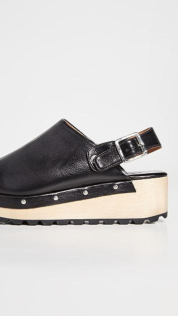 Rachel Comey Beam 木底鞋