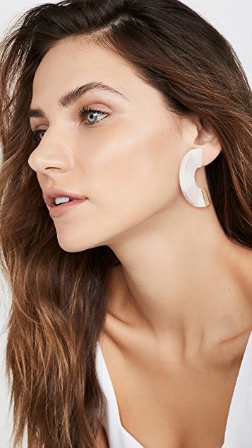 Rachel Comey Tabby Hoop Earrings