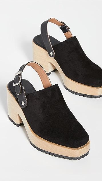 Rachel Comey Steel 木底鞋