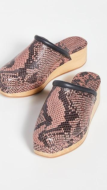 Rachel Comey Auder 木底鞋