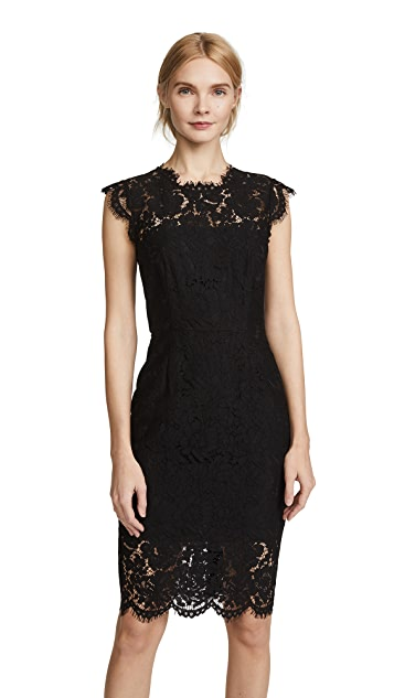 Rachel Zoe Suzette Fitted Dress