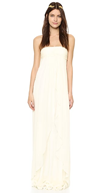 Rachel Zoe Elle Strapless Empire Gown