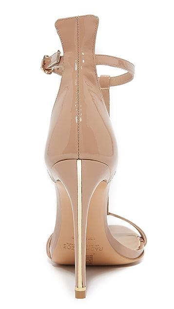 Rachel Zoe Tee T-Strap Sandals