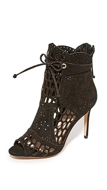 Rachel Zoe Julie Peep Toe Booties
