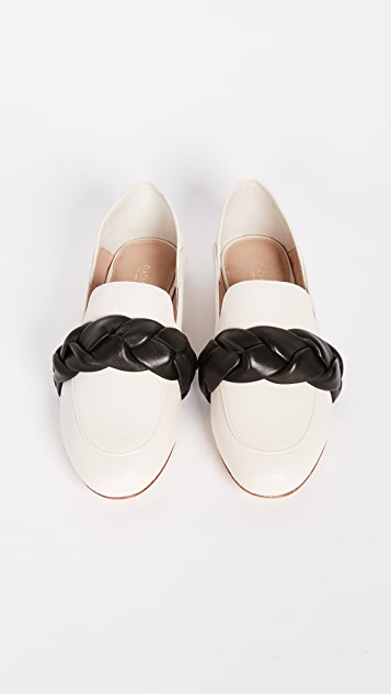 Rachel Zoe Dakota Braided Convertible Loafers