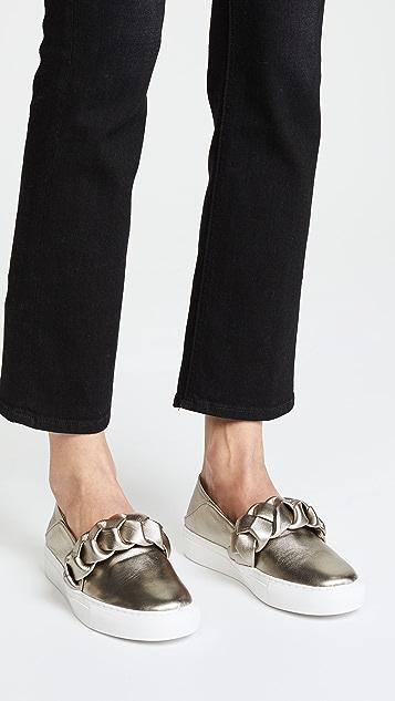 Rachel Zoe Burke Braid Sneakers