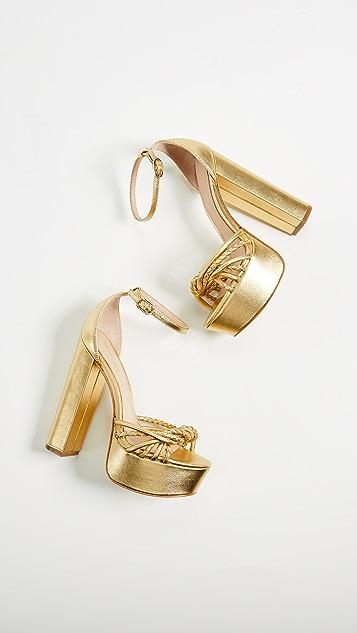 Rachel Zoe Kinsley Platform Sandals