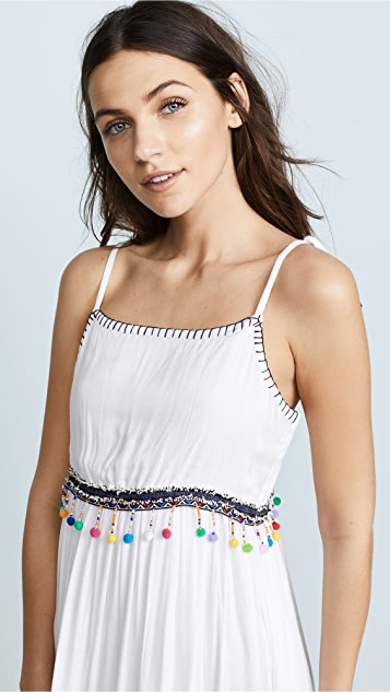 Raga Coconut Cove Tie Strap Midi Dress